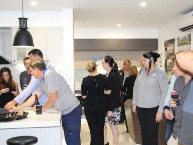 Kitchen Display Centre Opening HUGE Success